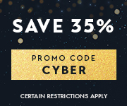 Save with promo code CYBER